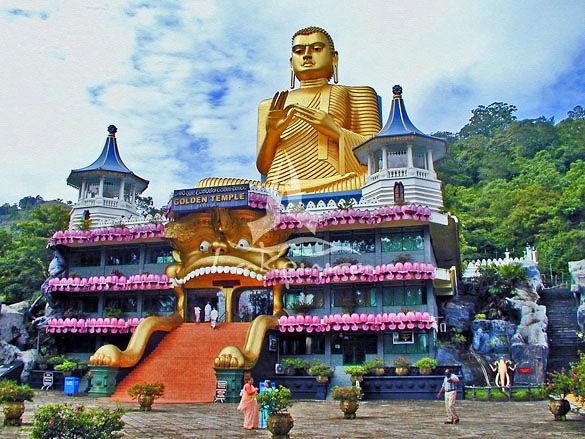 Дамбулла фото. Остров Шри-Ланка