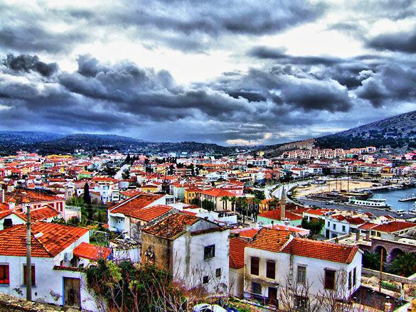 Город Измир фото