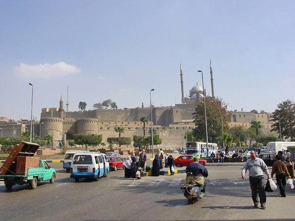 Крепость в Каире фото