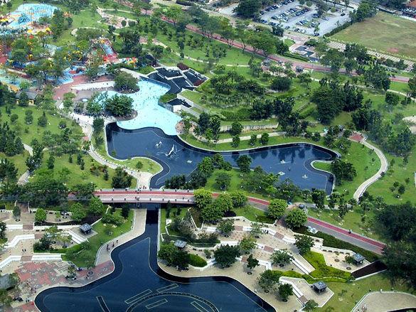 Куала-Лумпур фото с высоты