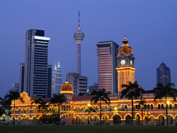 Столица Куала-Лумпур. Малазия