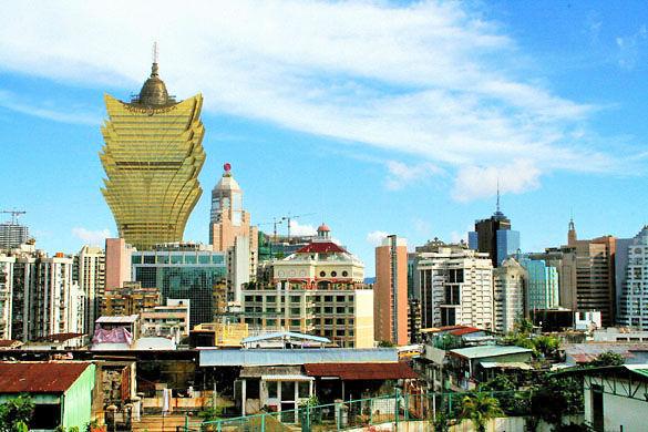 Город Макао фото