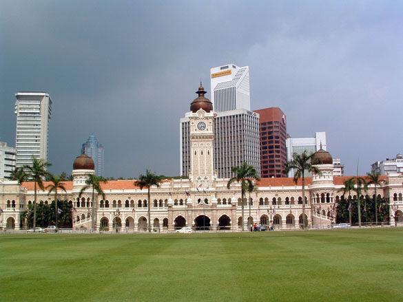 Мечеть Султан Абдул в Куала-Лумпур фото