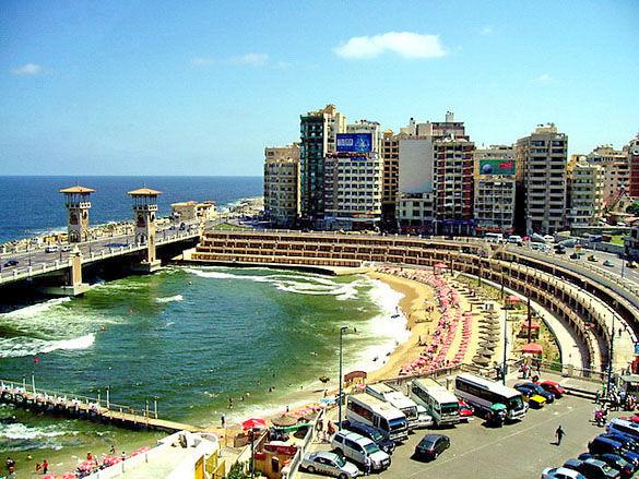 Морской курорт в Александрии фото