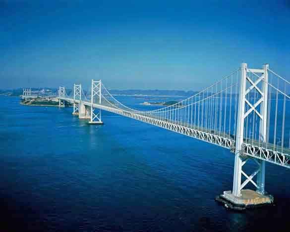 Мост Сэто Охаси. Сикоку