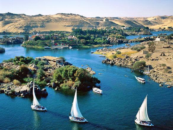 Фото реки Нил. Египет