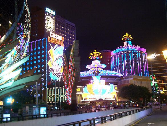 Фото Макао ночью