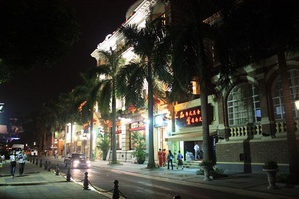 Остров Шамиан фото. Гуанчжоу