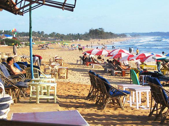 Отдых на Гоа пляж