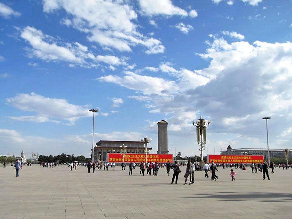 Фото площади Тяньаньмэнь