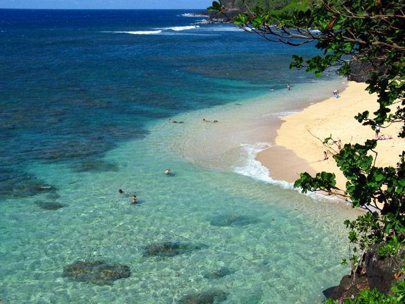 Пляж в Малазии фото