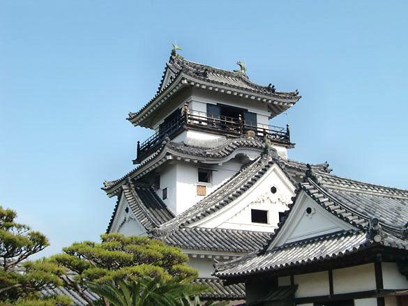 Замок Кочи. Япония