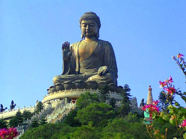 Скульптура Будды_