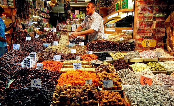 Базар Стамбула фото