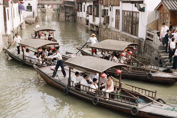 Древний город Чжуцзяцзяо фото