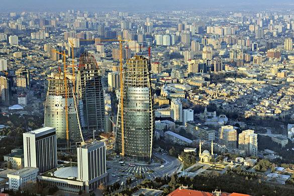 Город Баку фото