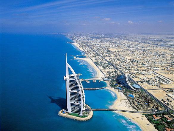 Город Дубай. ОАЭ
