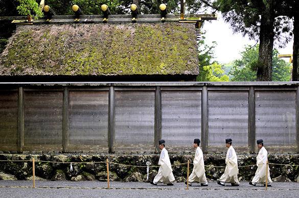 Храм Исэ в Японии