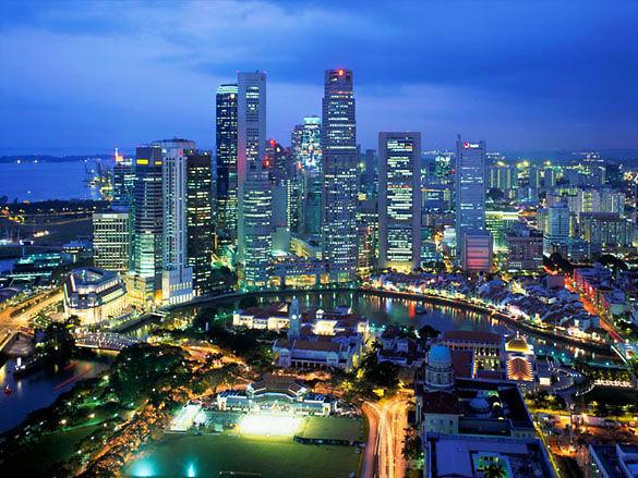 Ночной Куала-Лумпур фото