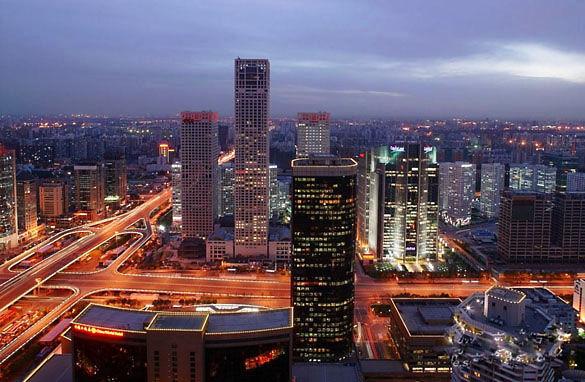 Ночной Пекин фото