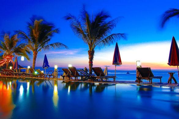 Отель на острове Ко Ланта фото
