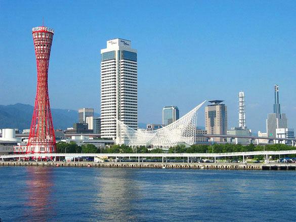 Портовая сетчатая башня обозрения