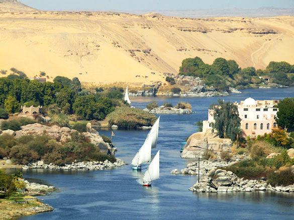 Нил фото. Египет