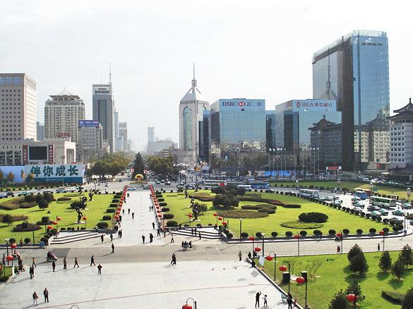Город Сиань фото