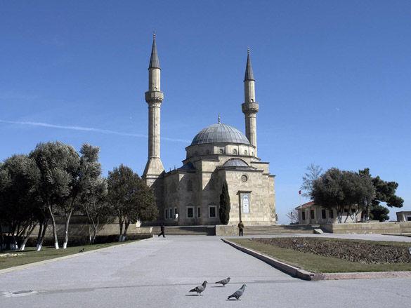 Мечеть в Баку фото