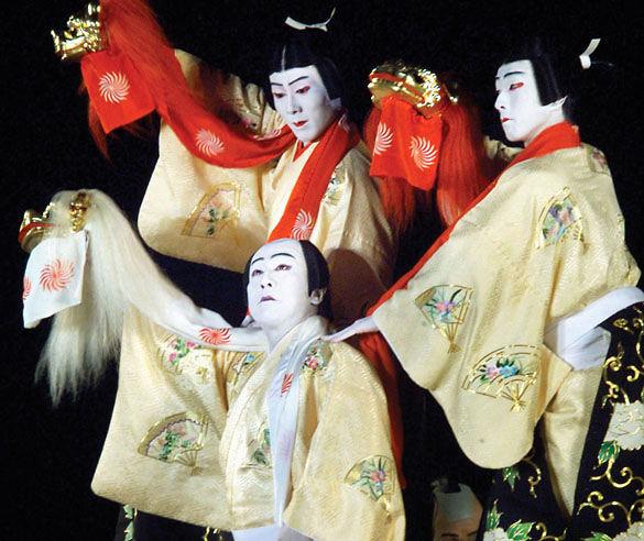 Японский театр Ккабуки фото