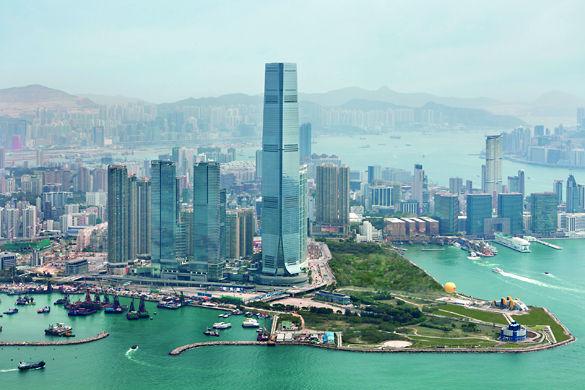 Небоскребы Гонконга фото