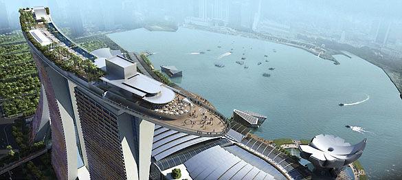 Отель-корабль. Сингапур