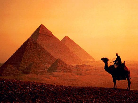 Пирамиды в Египте фото
