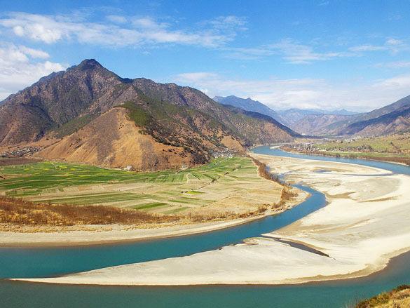 Река Янцзы фото