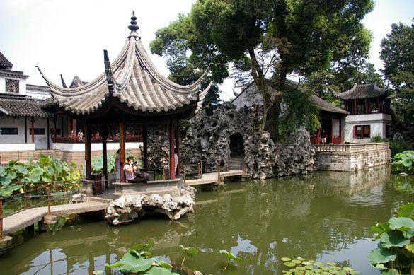 Парк в Суджоу фото