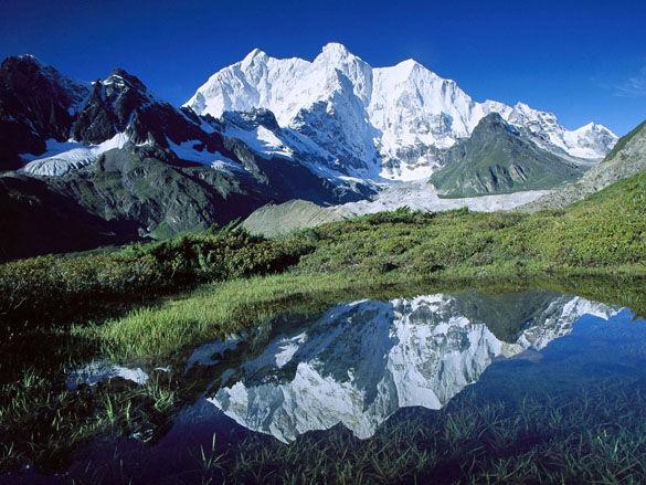 Горы Тибета. Китай